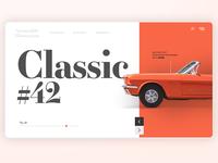 Classic Cars Concept Design