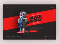 Black friday concept design