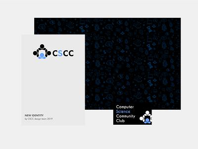 CSCC Club branding typography visual identity visual brand identity style guides ui ux ui rebrand logo branding and identity identity braning