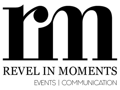 Revel in Moments logo first