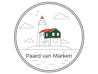Paard Van Marken briefbox netherlands iconic lighthouse