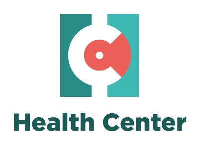 Health Center logo health center hospital