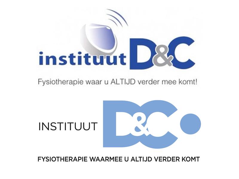 Rebrand for Instituut D&C fysiotherapie re-branding logo logo design fysio rebrand