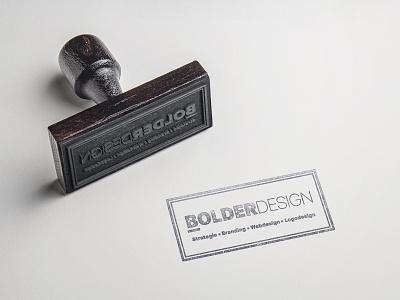 Restyle of Bolderdesign logo design branding webdesign strategy branding simple logo logo design logo redesign