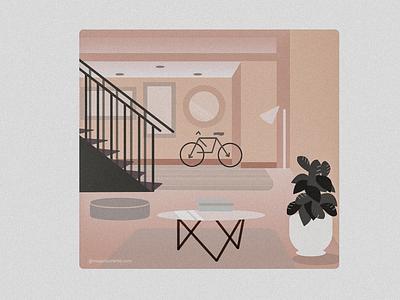 S T U D I O icon branding logo ui vector procreate art pink illustration design
