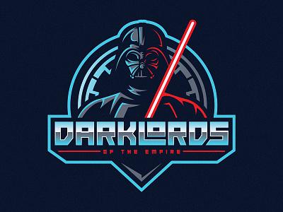 Dark Lords of the Empire lightsaber logo mascot star wars sith darth vader empire lord dark