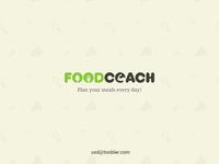 Foodcoach Logo Design Concept