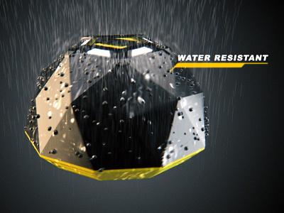 3D Motion Graphics | Limpet | Geotekk limpet rain security alarm motion graphics animation render arnoldrender 3drender 3d model c4d cinema 4d 3d