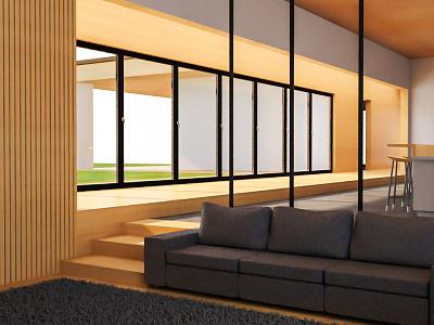 3D Architecture Visualisation | 1 interior architecture ash lighting arnoldrender 3drender c4d cinema 4d interior interior design architect architecture