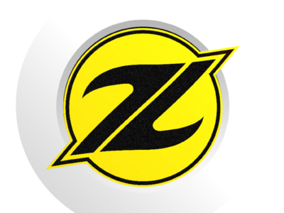 Z Color Logo Blue And Yellow 03 By Patrick Zelnick Dribbble