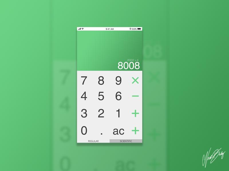 Daily UI 005 | Calculator