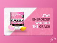Daily UI 008 | GFUEL Landing Page