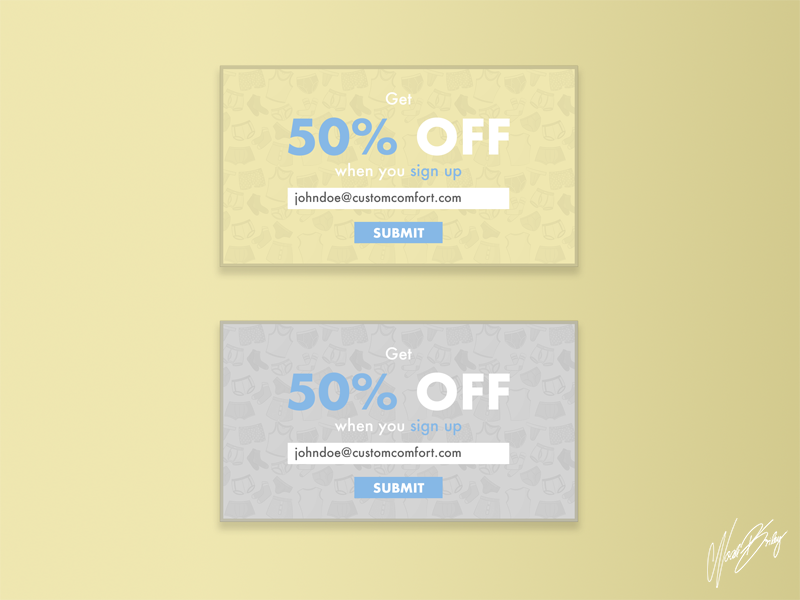 Daily UI 011 | Discount Pop - Up