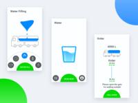 Water filling app