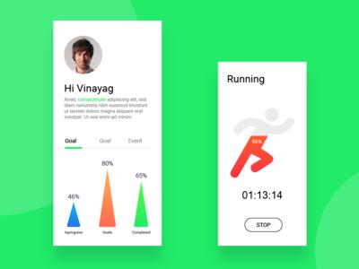 Fitness app Analytics