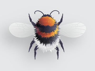 Bumblebee tutorial effect roughen vector blend illustrator