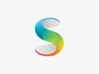 Rainbow Initial S