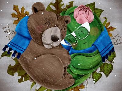 Bear & Cactus Christmas