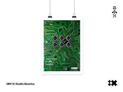 IBM iX Studio (Benelux) design posters ibm design ixstudio ix ibm
