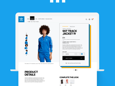 Adidas Original designs web shopping cart shop design ui ux ecommerce design ecommerce webdesign adidas originals adidas