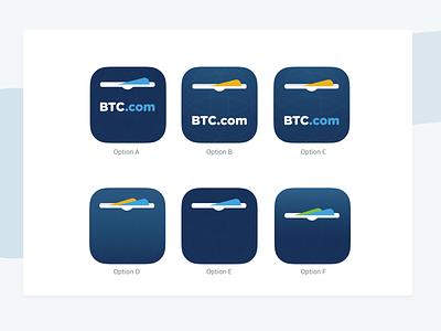 App Icon Exploration bitmain btc wallet app app financial app finances fintech bitcoin cryptocurrency wallet crypto wallet