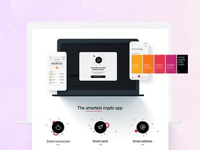 Primon   The smartest crypto app digital wallet ui ux design ecommerce crypto wallet cryptocurrency webdesign app