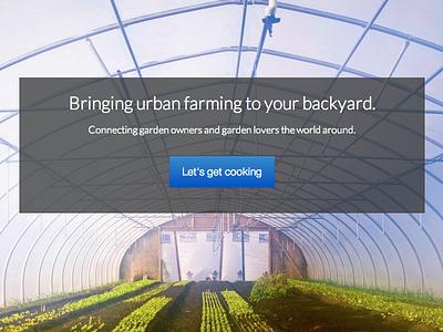 Parcel bootstrap ui urban farming