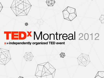 TEDxMontreal iPhone app tedx tedxmontreal ted iphone app app logo