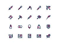 Rpg Game Iconset