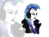Punk Speedpaint w/ Timelapse video