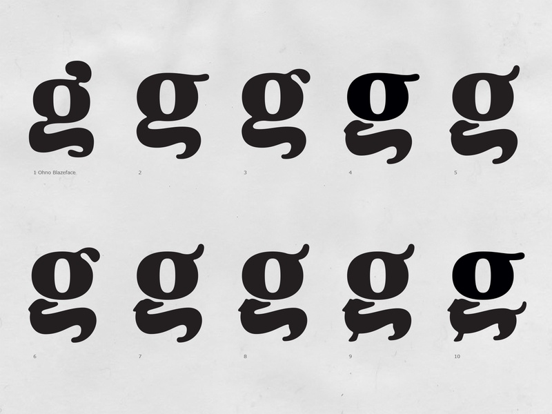 Witzig g/dachshund Exploration logotype g dog symbol hand drawn branding hand lettering lettering type logo