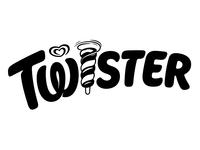 Twister custom type hand drawn bespoke branding hand lettering logotype lettering logo type typography