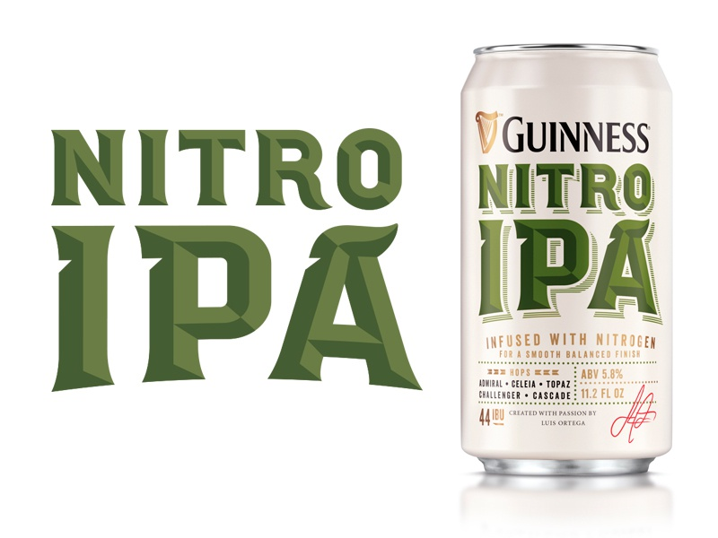 IPA packaging hand drawn brand custom type design hand lettering lettering typography beer logo type