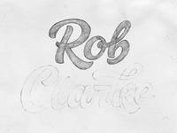 Rob Clarke – sketch