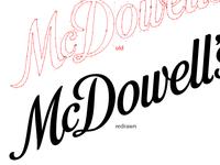 Mcdowell's Logo Evolution