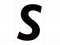 Italic S