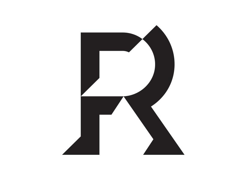 R 3d letters identity font bespoke lettering branding type typography logotype logo