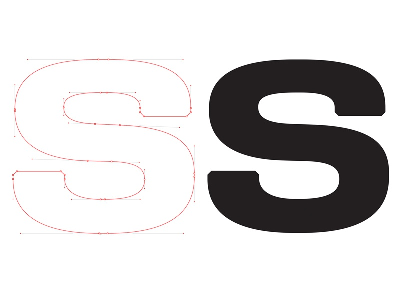 SS vector lighting identity 3d lettering branding type typography logotype logo