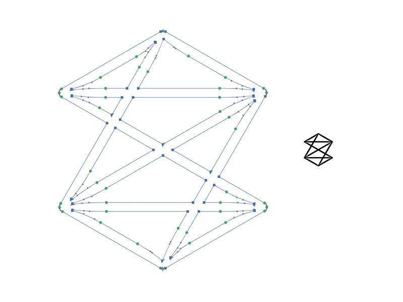 Z symbol for small use diagonal lines logotype vectors small icon logo z symbol