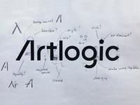 Artlogic Logo Process