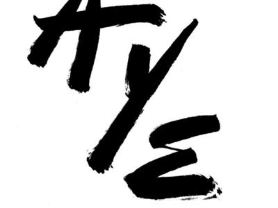 Slayer Detail brush type hand lettering lettering typography