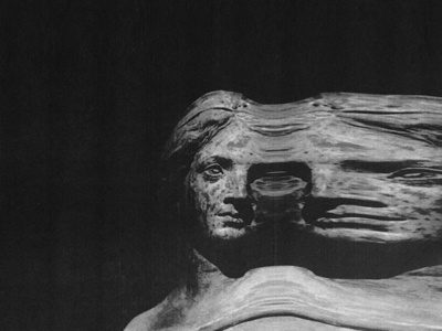 Sleeper Scan 2 low quality texture sleeper 72 band album sculpture art statue glitch stretch photography scan