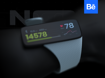 NOOZ® – wearable product and UX/UI design research / Behance product design interface behance band fitness wearable concept interaction design ux ukraine ui