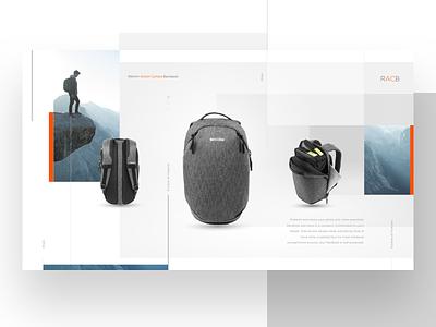 racb web grid ui  ux design ui  ux promo web product ecommerc landing web ukraine