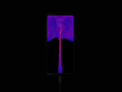 Battery charging concept for XMax iphonex android interaction design landing web ios mobile houdini 3d flow mp4 gif battery charging animation uidesign ukraine xmax