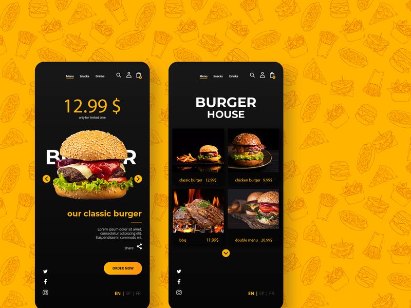 Food Ordering App like UberEats