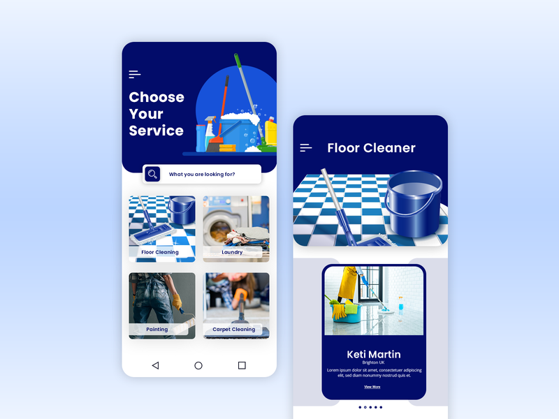 On Demand House Cleaning App on demand app ondemand home  service app home cleaning app home cleaning