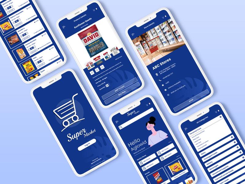 Multi Vendor Grocery Store App on demand app ondemand app grocery delivery app grocery delivery grocery online grocery store groceries grocery app