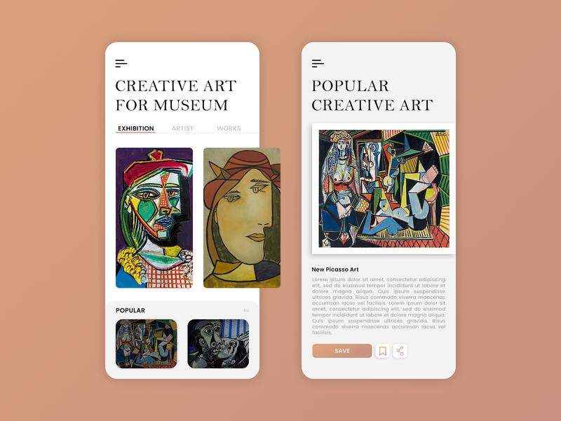 Museum App | Art Gallery App art gallery app museums museum of art museum app museum