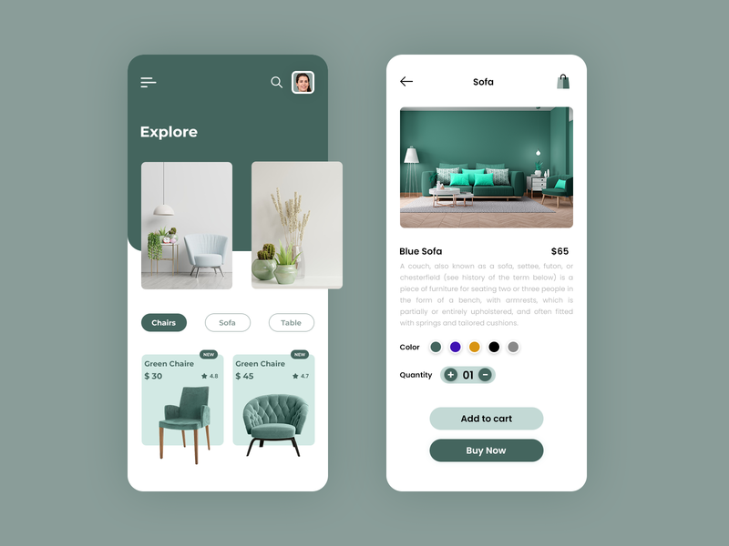 Online Home Decor App on demand app uiux app design app development home decoration home furniture interior design app e-catloug app furniture app online home decore app
